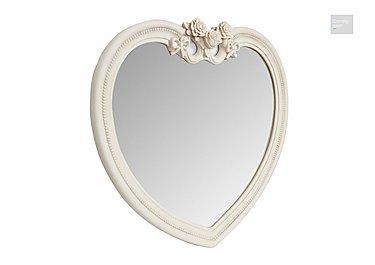 Heart Ivory Mirror  in {$variationvalue}  on FV