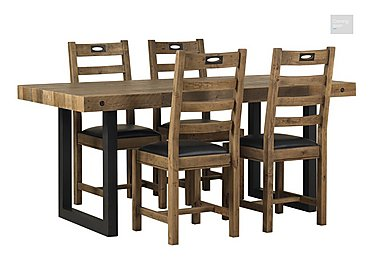 Hoxton Dining Table with 4 Chairs  in {$variationvalue}  on FV