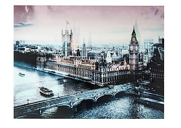 Houses of Parliament Glass Picture in  on FV
