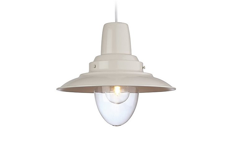Cream Harley Pendant Light  in {$variationvalue}  on FV