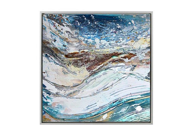 Image of High Tide I Framed Canvas