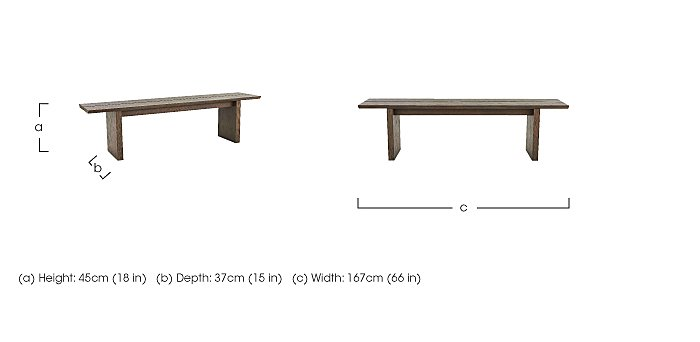 Junction Dining Bench