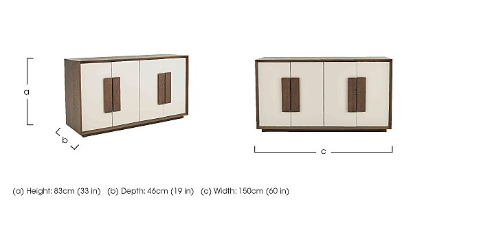 Junction Wooden Sideboard  in {$variationvalue}  on FV