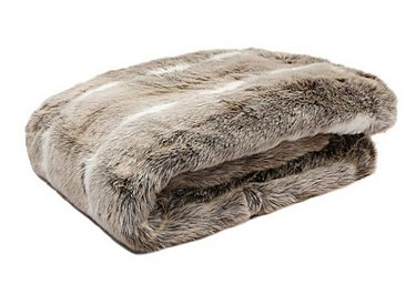 Kudo Faux Fur Blanket in  on FV