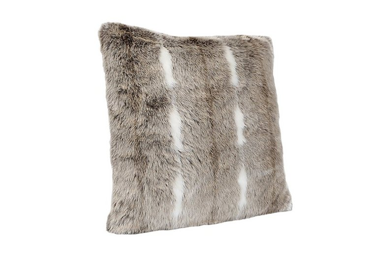 Kudo Faux Fur Cushion in  on FV