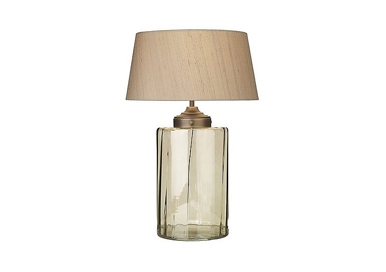 Kew Smoked Glass Table Lamp in  on FV