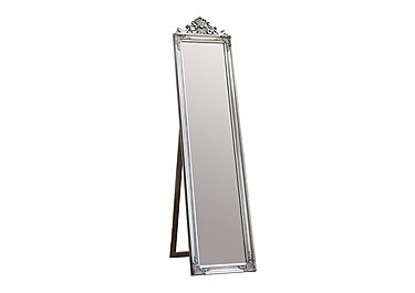 Lambeth Cheval Mirror Silver