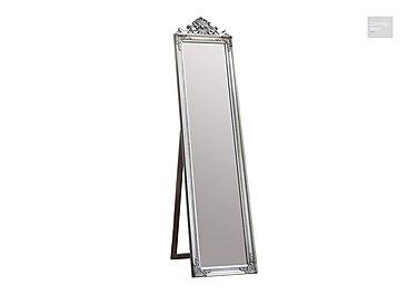 Lambeth Cheval Mirror Silver  in {$variationvalue}  on FV