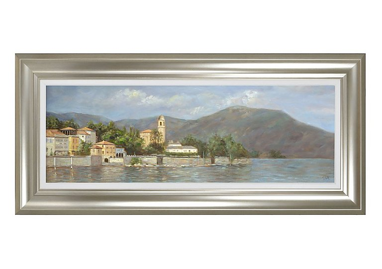 Lake Como Framed Picture in  on FV