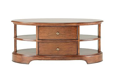 Lille Oval Coffee Table in  on FV