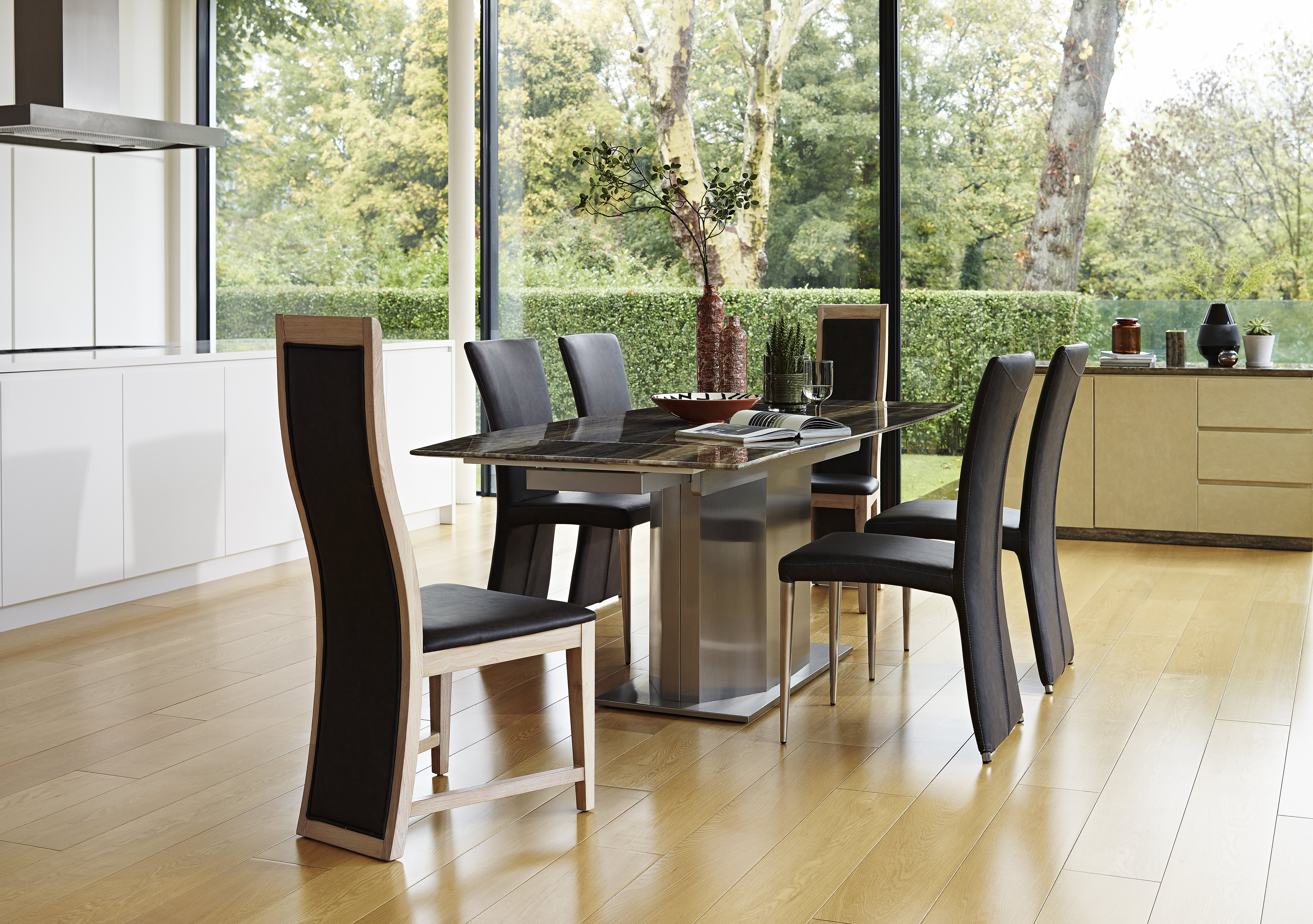 Furniture Village Dining Tables long island extending dining table - furniture village