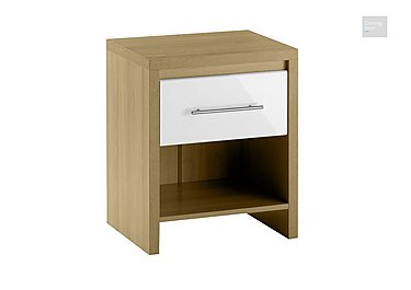 Lorelle 1 Drawer Nightstand  in {$variationvalue}  on FV