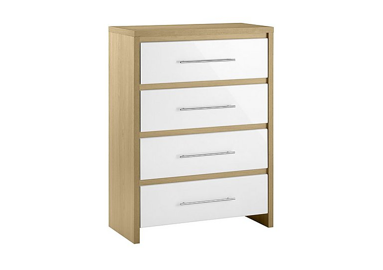 Lorelle 4 Drawer Chest in  on FV
