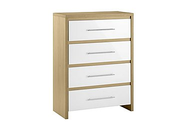 Lorelle 4 Drawer Chest