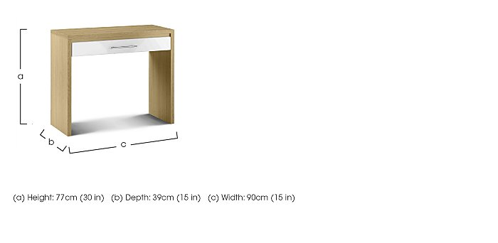Lorelle Dressing Table in  on FV