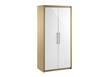 Lorelle 2 Door Wardrobe in  on FV