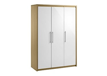 Lorelle 3 Door Wardrobe in  on FV
