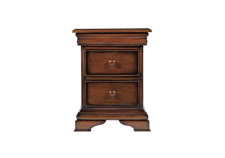 Loxley 3 Drawer Bedside Table in  on Furniture Village