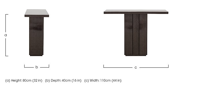 Lorenzo Console Table in  on FV