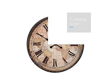 Antique Map Wall Clock in  on FV