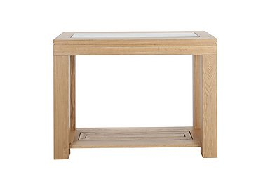 Maze Oak Console Table
