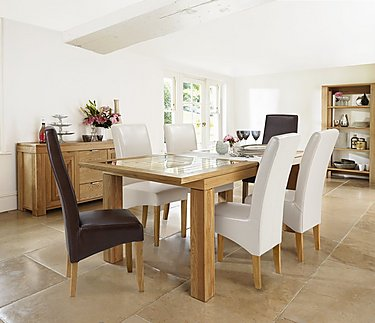 Maze Small Extending Dining Table in  on FV