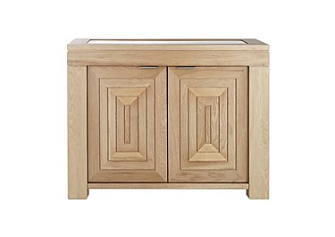 Maze Small Oak Sideboard