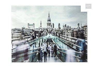 Millenium Bridge Glass Picture  in {$variationvalue}  on FV