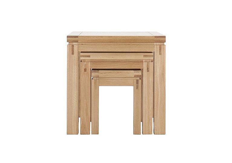 Modena Nest of Oak Tables in  on FV