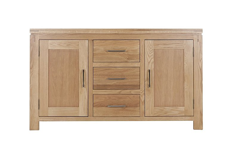 Modena 2 Door 3 Drawer Oak Sideboard
