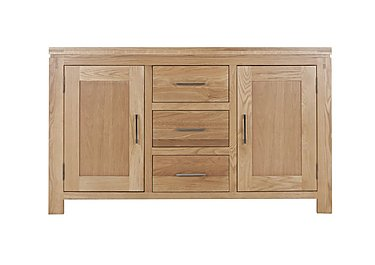 Modena 2 Door 3 Drawer Oak Sideboard in  on FV