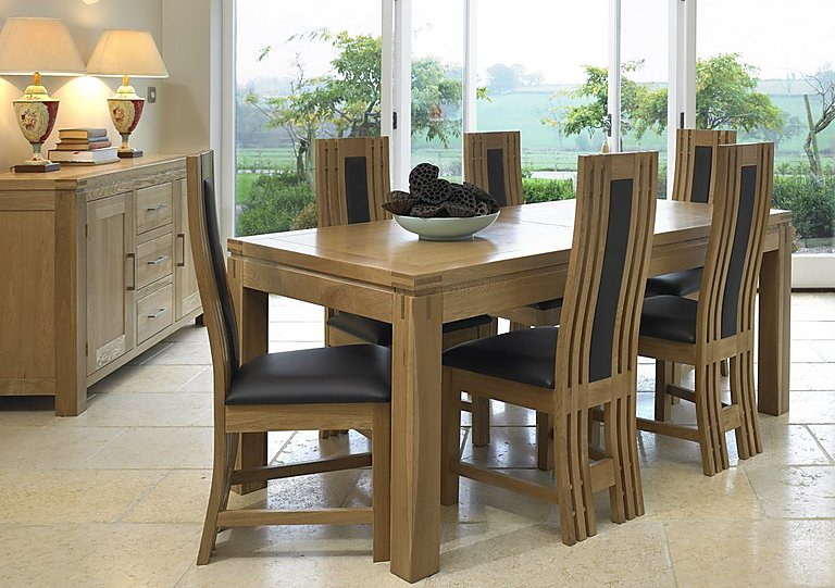modena small extending dining table - furniture village