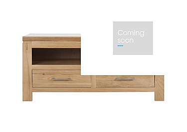 Modena Oak Entertainment Unit with Drawers in  on FV