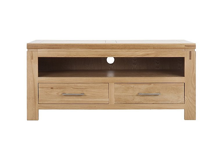 Modena Oak Entertainment Unit with Drawers