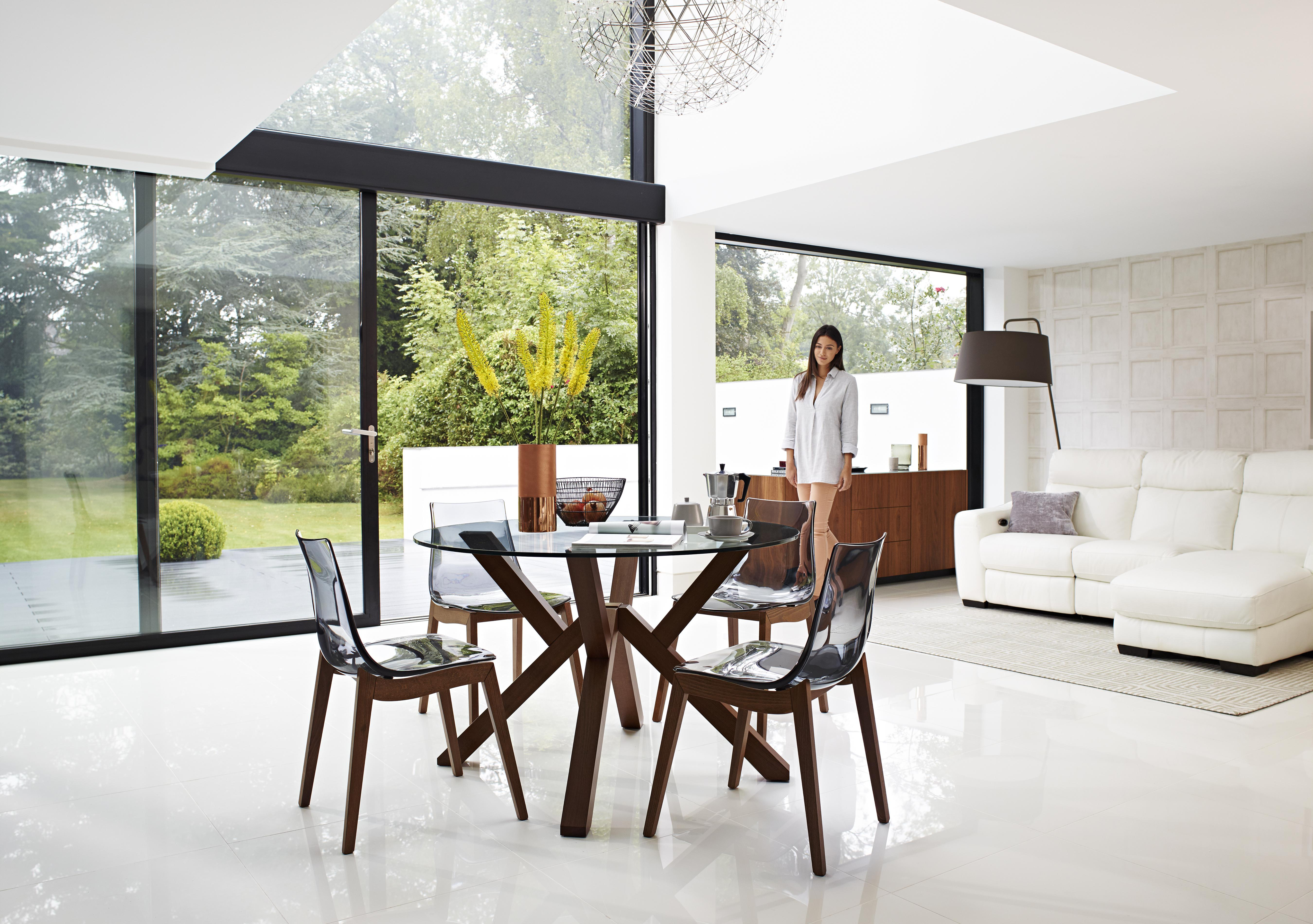 perspex dining table dining table with elegant and classic