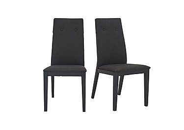 Monaco Pair of Fabric Dining Chairs in  on FV