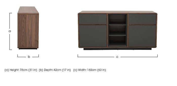 Moda Sideboard in  on Furniture Village