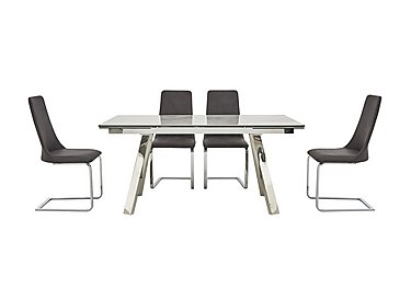 Nevada Extending Dining Table and 4 Chairs in  on FV
