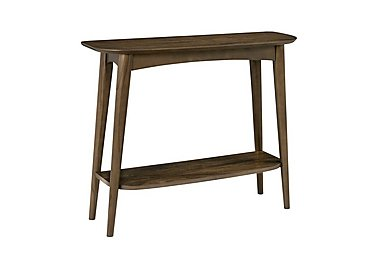 Nexus Console Table With Shelf