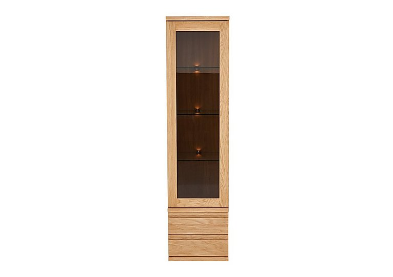 Orbit Tall 1 Door Display Unit in  on FV