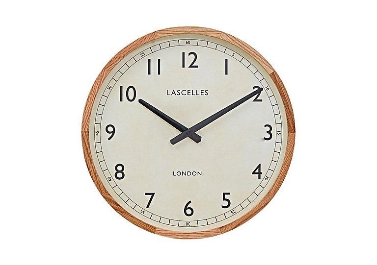 Oak Framed Clock in  on FV
