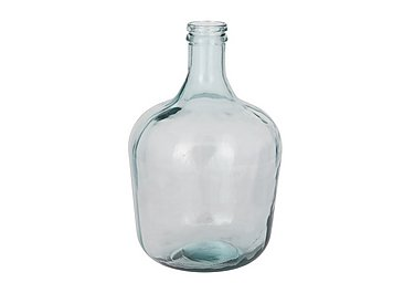 Onion Bottle Clear Vase in  on Furniture Village