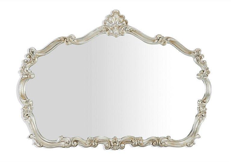 Silver Leaf Ornate Mirror in  on FV