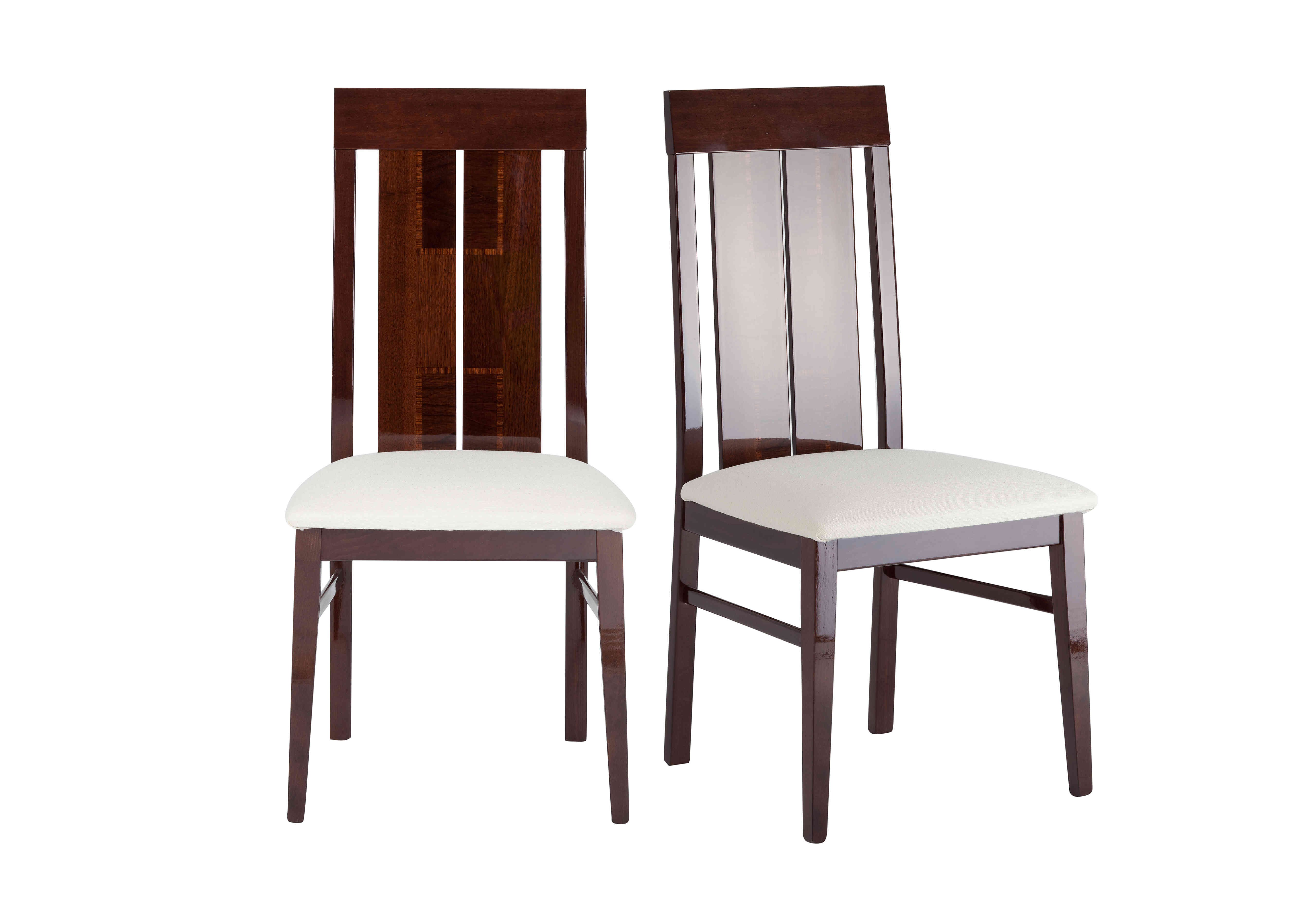 Palermo Pair of Side Dining Chairs ALF Furniture Village