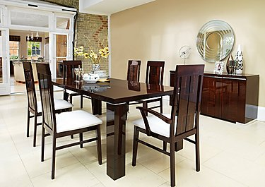 Palermo Extending Dining Table in  on Furniture Village