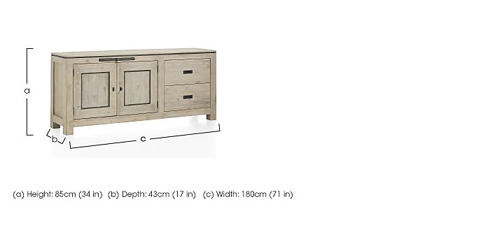Panay Large Sideboard in  on FV