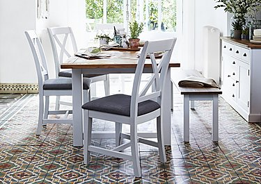 Parquet Extending Dining Table in  on Furniture Village