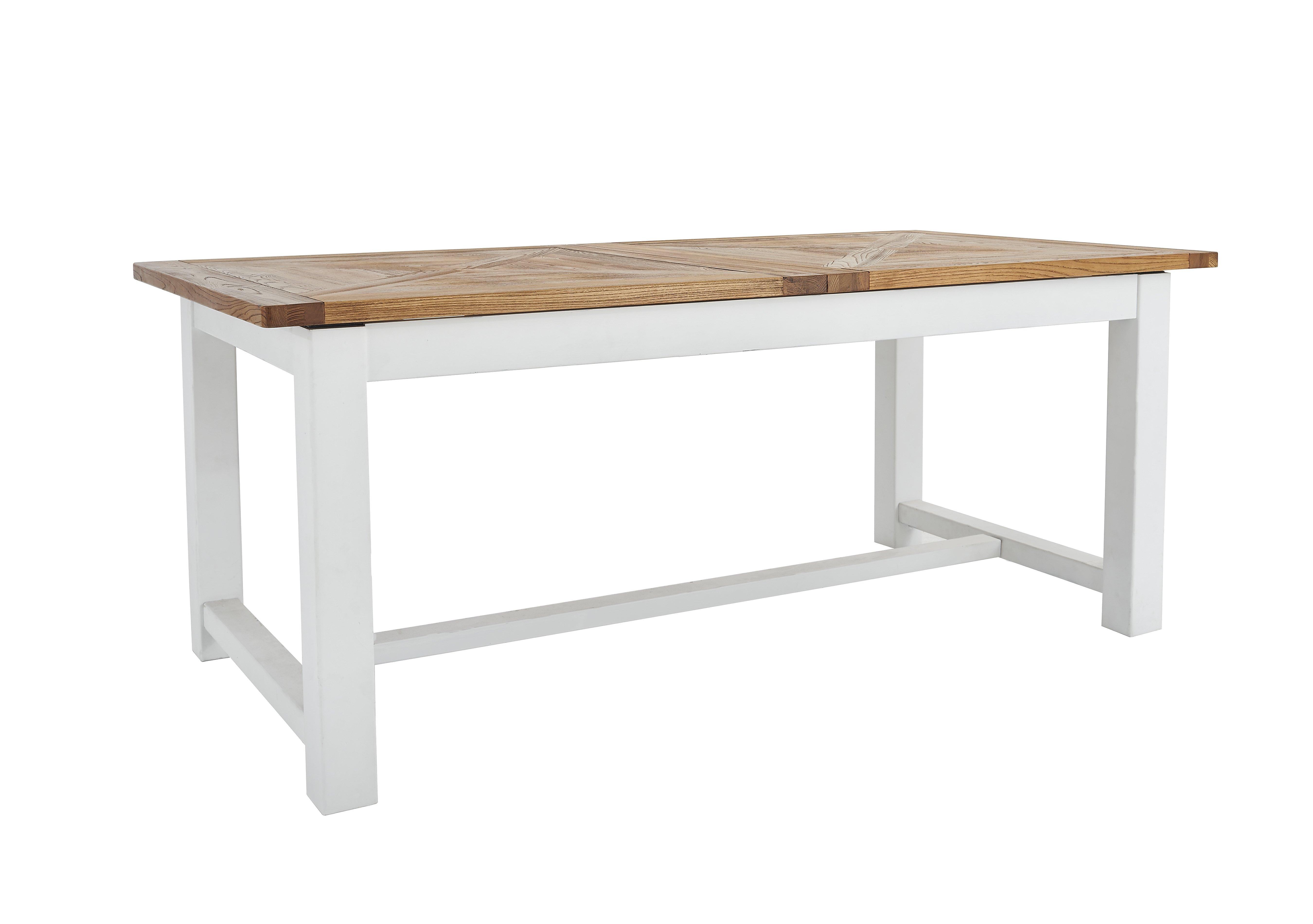 Furniture Village Insurance parquet extending dining table - furniture village