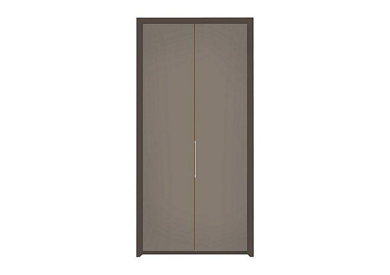 Pacifica 106cm 2 Door Bi-Fold Wardrobe