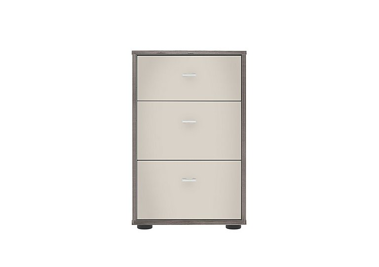 Pacifica 40cm 3 Drawer Bedside Chest